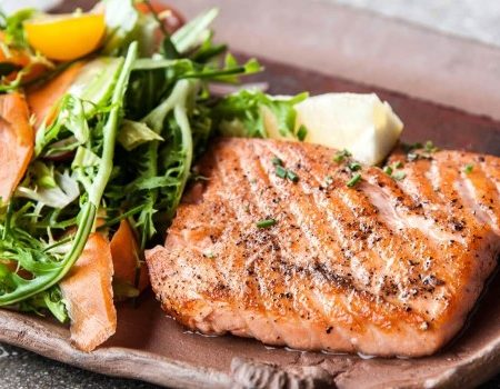Image of Lemon Pepper Grilled Salmon